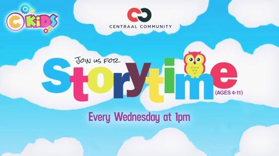 Storytime slide